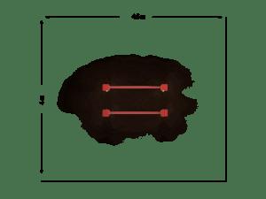 Drążek podwójny 2