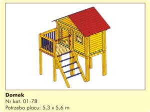 Domek dla dzieci 01-78