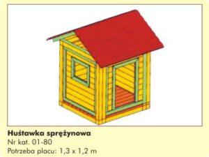 Domek dla dzieci 01-80
