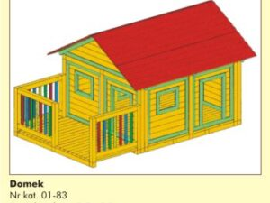 Domek dla dzieci 01-83