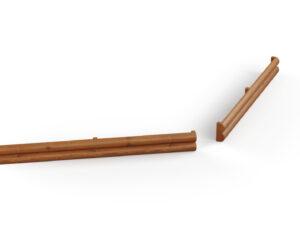 Obrzeże z połówek