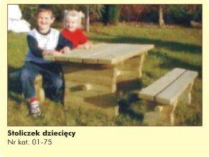 Stoliczek dziecięcy 01-75
